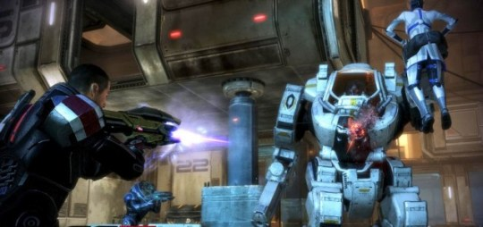 Mass Effect 3 (360) - saving the galaxy, one lover at a time