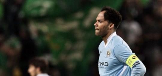 Man City player Joleon Lescott