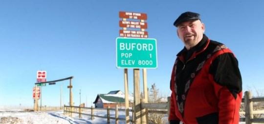 Buford, Don Sammons, Wyoming