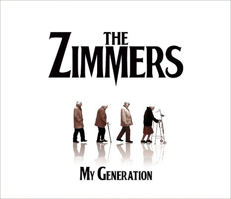 The old aged band saw a resurgence in their zimmer fame (Picture: The Zimmers)
