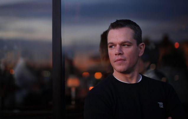 Matt Damon talks exclusively to Metro