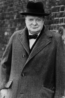 Sir Winston Churchill, WW2