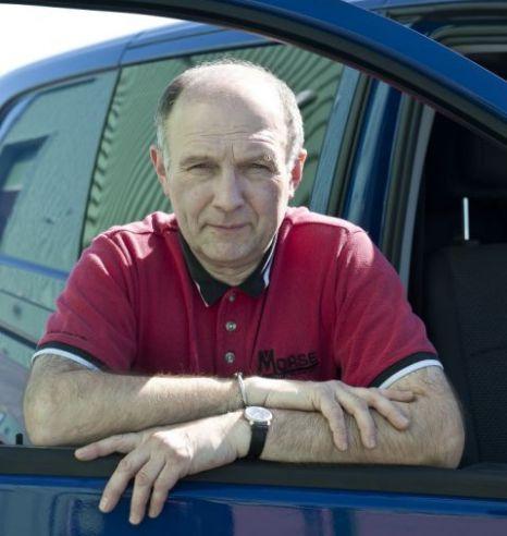 Paul Wiseman, clamped