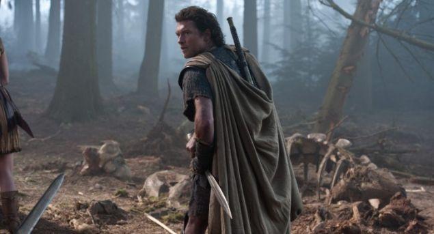Sam Worthington as Perseus in Wrath of the Titans