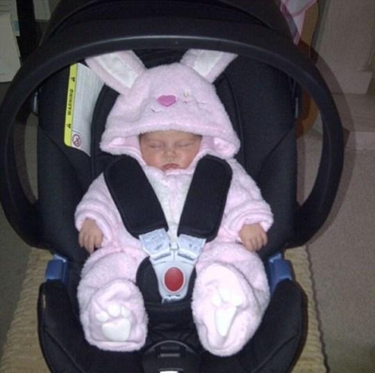 Una Healy baby daughter
