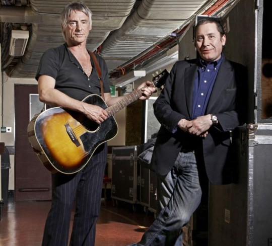 Paul Weller and Jools Holland