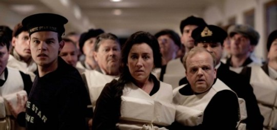 Titanic tells the story of the ship's sinking from the perspectives of different classes (Picture: ITV)