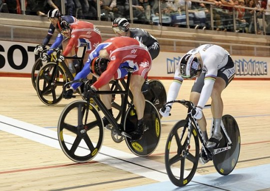 Sir Chris Hoy, World Championships.