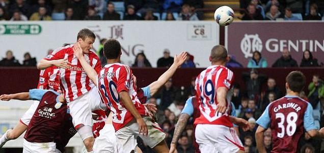 Football Premier League Stoke Aston Villa