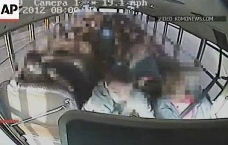 Jeremy Wuitschick, 13, grabbed the steering wheel after noticing the bus driver was in distress