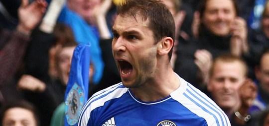 Branislav Ivanovic of Chelsea