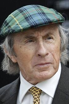 Former British Formula One World Champion Jackie Stewart