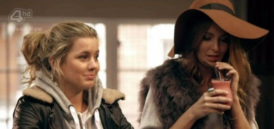 Millie Mackintosh has been choosing to spend more time with Caggie Dunlop in Made In Chelsea (Picture: E4)