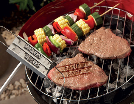 Brand your steak the way you want it