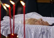 Boris casket