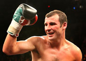 Calzaghe swaps gloves for dancing shoes