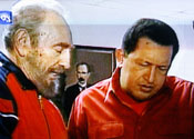 Castro and Chavez