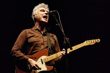 David Byrne plays to his own beat at Big Chill   Metro News