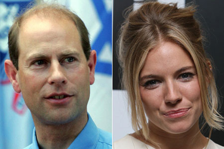 Prince Edward and Sienna Miller