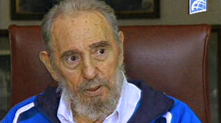 A healthier looking Fidel Castro appeared on Cuban TV over the weekend.