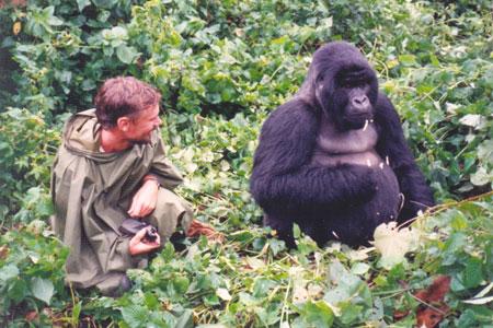 Geoff and gorilla