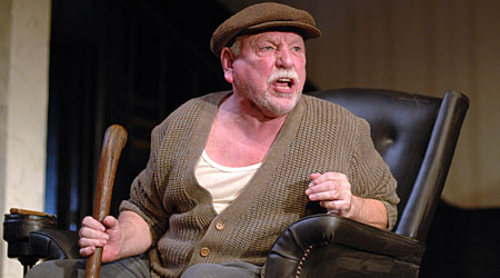 Kenneth Cranham in last year's revival of Pinter's The Homecoming at the Almedia Theatre