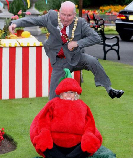 Jim Rodgers tomato leap