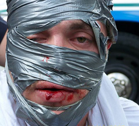 The Duct Tape Bandit