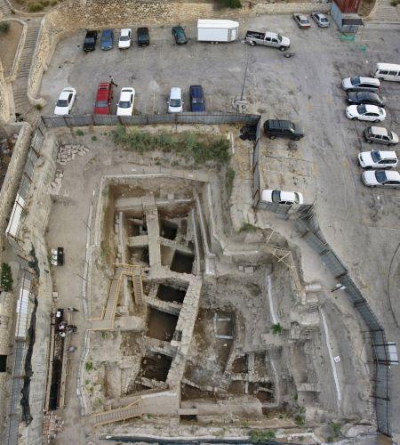 Jerusalem earring hole