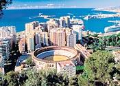 Malaga: popular holiday resort