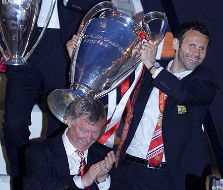Man United trophy