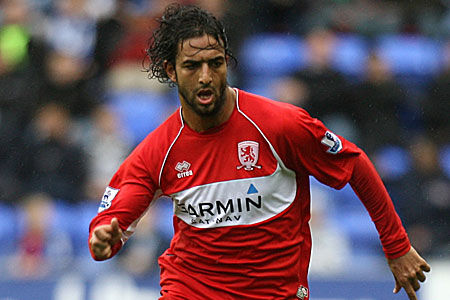 Middlesbrough striker Mido