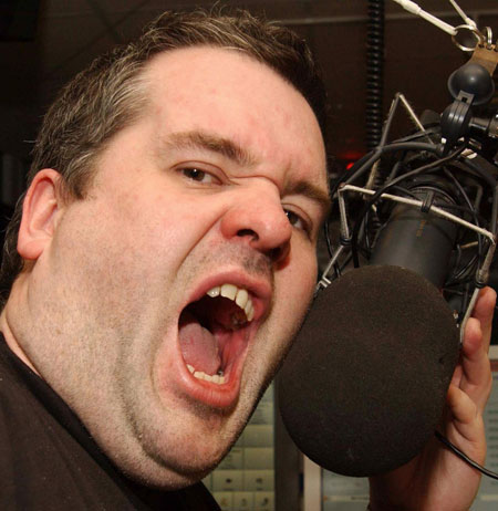 Chris Moyles has lashed out at his BBC bosses