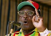 Robert Mugabe denied the BBC had been banned