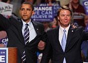 barack obama john edwards