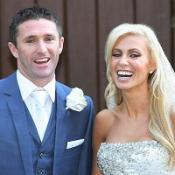 Robbie Keane and his wife Claudine have become parents of a baby boy
