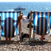 Temperatures could reach 23C (72F) this bank holiday weekend, forecasters have said