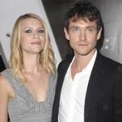 Claire Danes and Hugh Dancy attended the roof top party