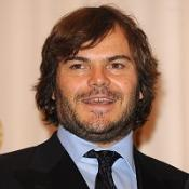 Jack Black posed for the wedding pictures