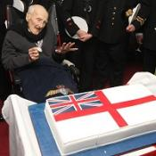 Henry Allingham is celebrating his 113th birthday
