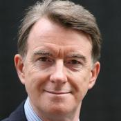 Lord Mandelson said 'market conditions' would not allow part privatisation of Royal Mail