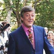 Stephen Fry admitted downloading the season finale of House