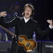 Sir Paul McCartney played at the New York Mets' stadium