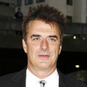 Chris Noth was left with a red mark after being slapped