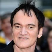 Quentin Tarantino made an inglourious exit after the Hollywood premiere of his latest film