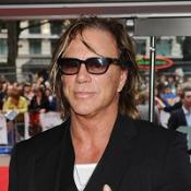 Mickey Rourke said his interest in boxing kept him motivated