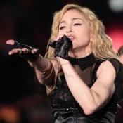 Madonna was booed during a concert in Romania