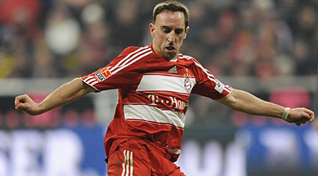 Centre of attention: Chelsea and Bayern will discuss Franck Ribery