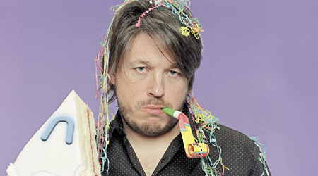 Richard Herring: Hopefully he'll have cheered up by the time he gets to Manchester