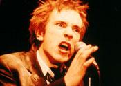 Singer Johnny Rotten